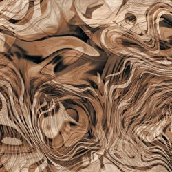 Wallpapers mural abstract meanders in  2 colors