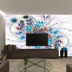 Wall mural abstraction multicolor 2