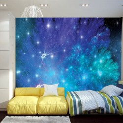 Wall mural star abstraction
