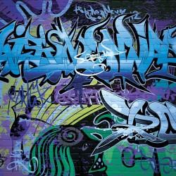 Wall murals wall graffiti in 2 new colors