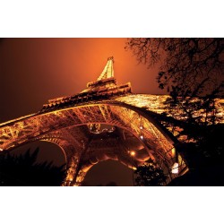 Wallpapers amazing view of  Eiffel tower at night