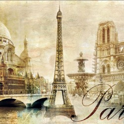 Wallpapers collage view of Paris