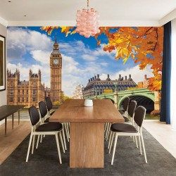 Photo mural beautiful London view