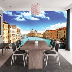 Photo mural view from the Great canal in Venice