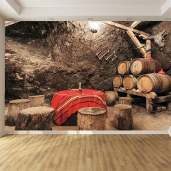Photo mural bulgarien winery type