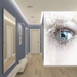 Wall mural artistic eye