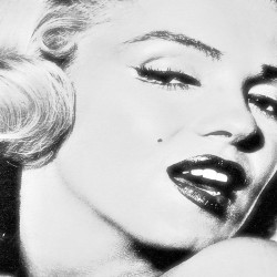Photo mural graphic Marilyn
