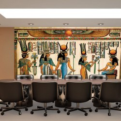 Wall murals Egyptian historical murals