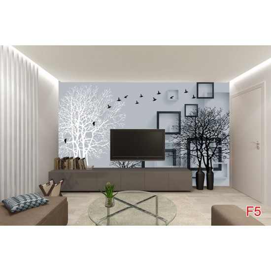 Wallpapers 3D art composition tree effect