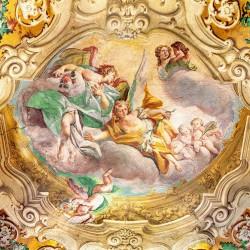 Photo mural religious classical ceiling fresco