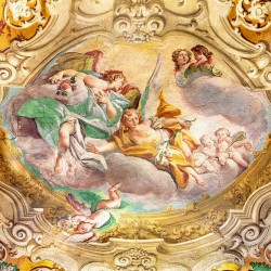 Photo mural religious classical ceiling fresco