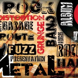 Wallpapers Rock-metal collage