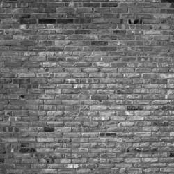 Photo mural imitation of a gray brick wall