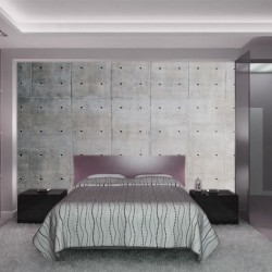 Photo mural imitation concrete wall