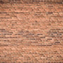 Photo mural imitation of a red brick wall