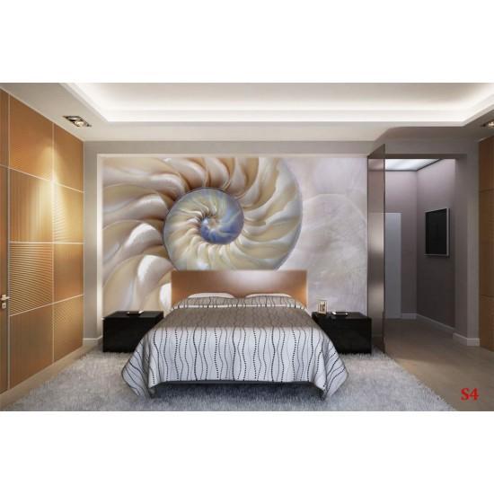 Photo mural beautiful sea shell