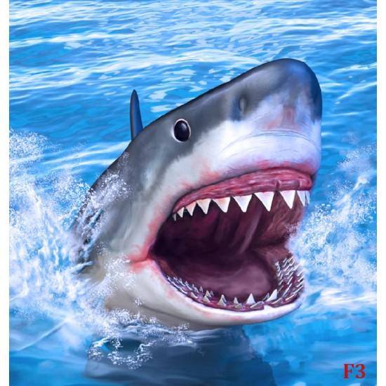 Photo mural a big sea shark
