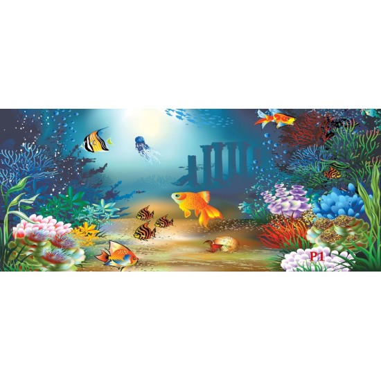 Sea Fish Boys Girls Bedroom 854VE WALL MURAL PHOTO WALLPAPER PICTURE