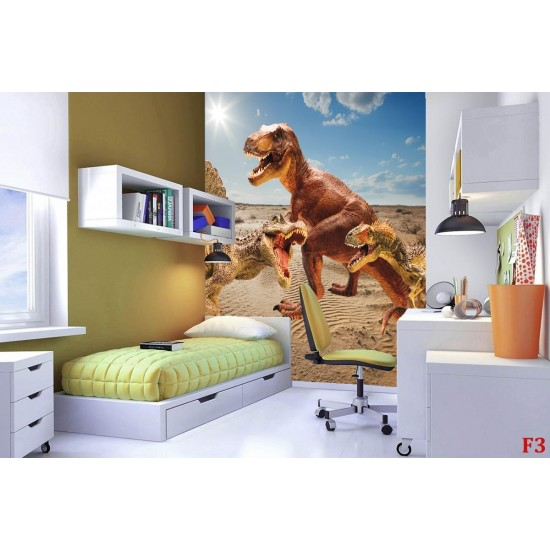 Wallcoverings Dinosaur background a wilderness