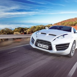 Wallpapers beautiful white sports car