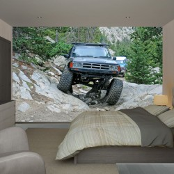 Wall mural off-road jeep