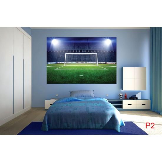 Wallpapers mural stadium'lights with a big door