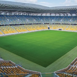 Photo mural big stadium view