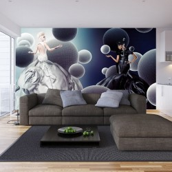 Wall murals Fashion womans