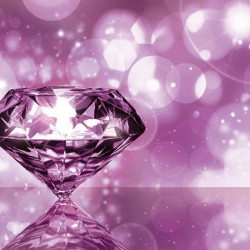 Wallpapers view of beautiful diamond in 3 colors