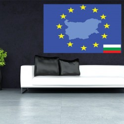 Photo mural European union flag