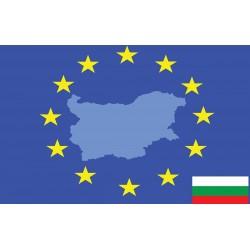 Photo mural European union flag