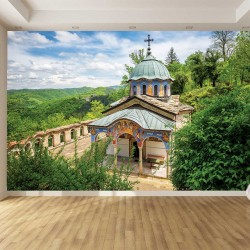 Photo mural beautiful view of Sokolski Monastery
