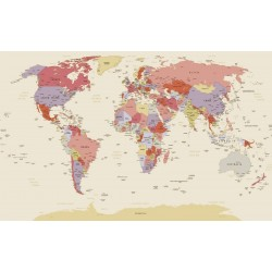 wallpapers political world map beige background